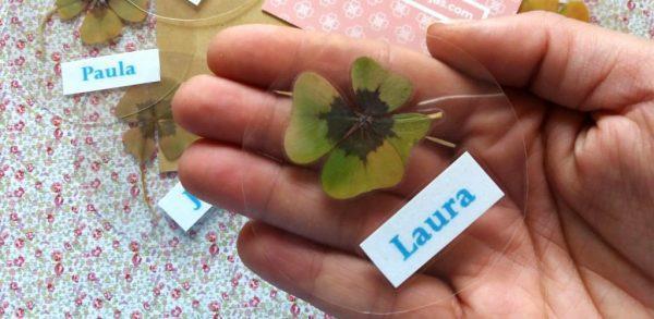 Tréboles de cuatro hojas